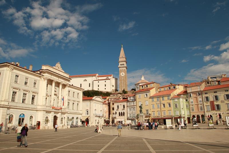 Piran's Central square