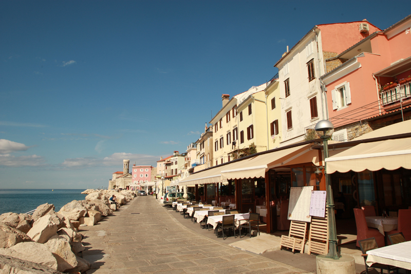 Piran's Promenade
